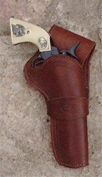 Western Holster - Simply Plain made in Cochise, Arizona