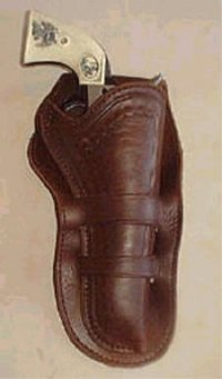 Mexican Loop Variation Western Gun Holster