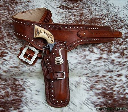The Mojave Gunbelt and Holster - Made in USA