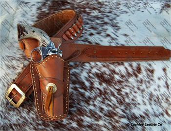 The Highwayman Gunbelt w/Holster