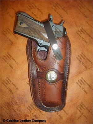 Sass Shooters Wild Bunch Holster by Cochise Leather Company, Cochise AZ