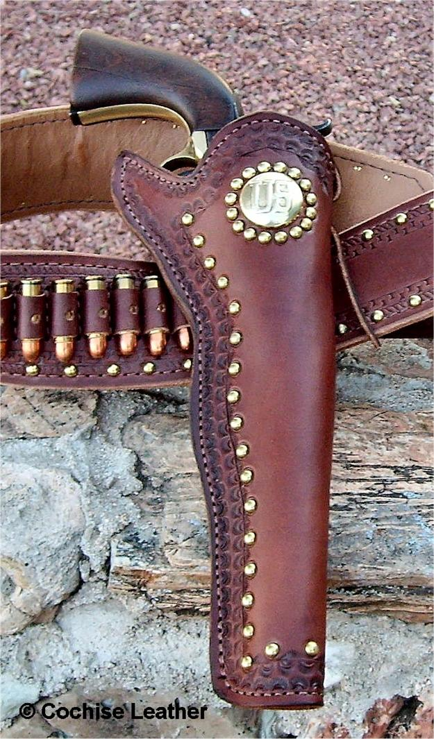 The Scout Slim Jim Leather Gun Holster Made In Usa