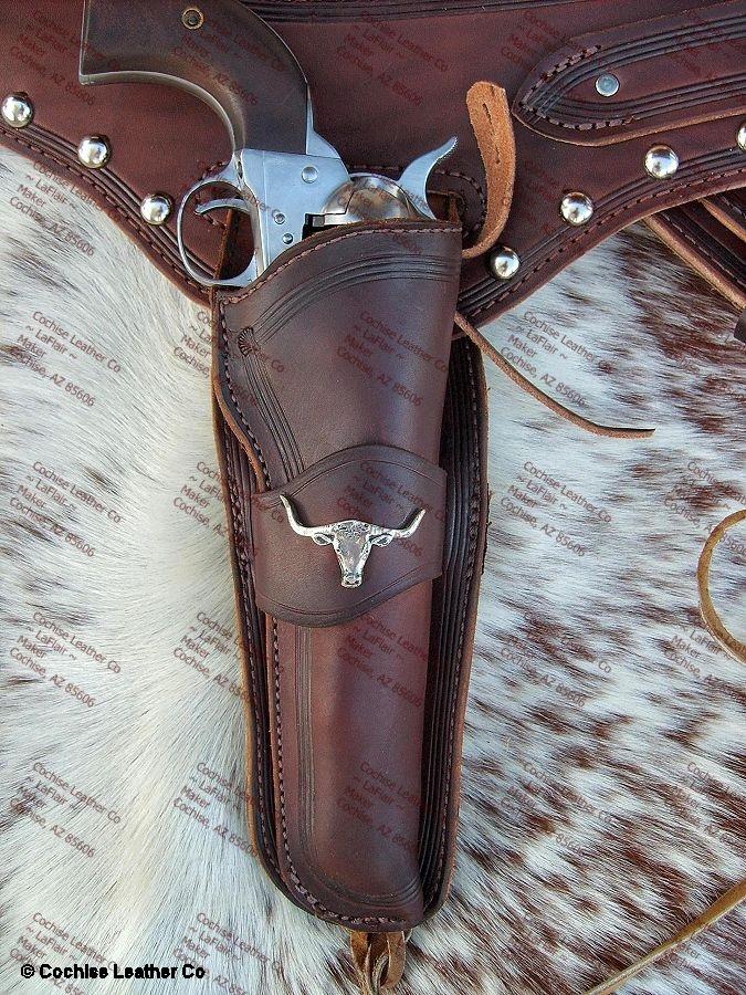 The Cattleman Buscadero Gunbelt With Holster