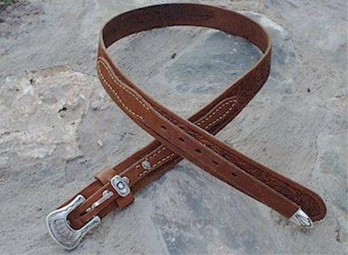 Classic plain version of the Texas Ranger Belt