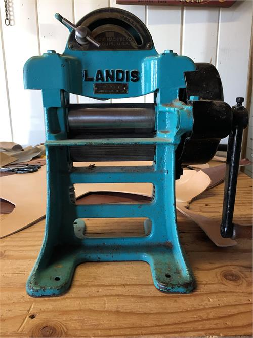 Landis leather splitter in excellent condition. For sale in AZ.