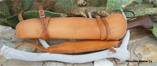 Mares Leg Leather Rifle Scabbard