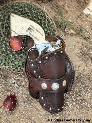 Western Leather Gun Holster