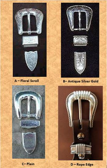 Ranger Belt Buckle selection for some Ranger belts