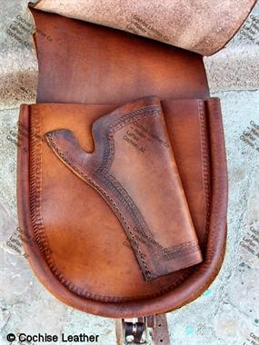 History of Western Gun Leather - Holster and Gun Belt